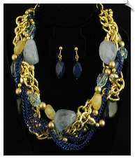 Necklace Set - Fashion (SKU: SOL4730)