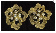 Clip On Earrings - Fashion Classic (SKU: SOL4996)