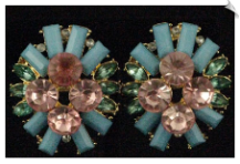 Clip On Earrings - Fashion (SKU: SOL5003)
