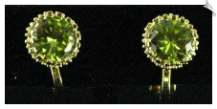 Clip On Earrings - Cubic Zirconia (SKU: SOL5030)