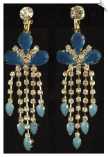 Clip On Earrings - Chandelier (SKU: SOL5035)