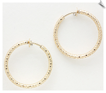 Clip On Earrings - Hoops (SKU: SOL5108)