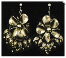 Artsy & Trendy Clip Earrings (SKU: SOL5405)