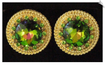 Clip On Earrings - Rhinestone Glamour (SKU: SOL5443)