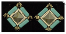 Clip On Earrings - Fashion (SKU: SOL5447)