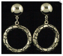 Clip On Earrings - Modern (SKU: SOL5450)