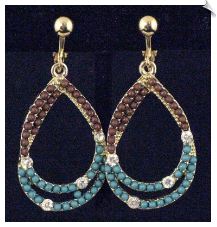 Clip On Earrings - Fashion (SKU: SOL5505)