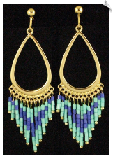 Clip Earrings - Fashion (SKU: SOL5519)