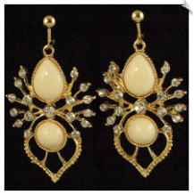 Clip Earrings - Fashion (SKU: SOL5520)