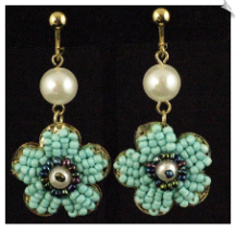 Clip Earrings - Fashion (SKU: SOL5524)