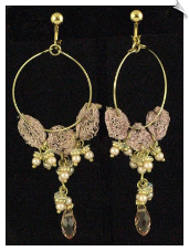 Clip Earrings - Fashion (SKU: SOL5525)