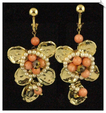Clip Earrings - Fashion (SKU: SOL5556)