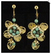Clip Earrings - Fashion (SKU: SOL5557)