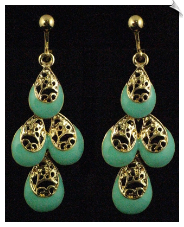 Clip Earrings - Fashion (SKU: SOL5558)