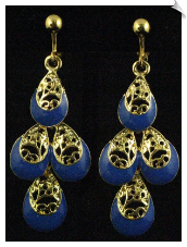 Clip Earrings - Fashion (SKU: SOL5560)
