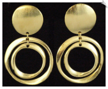 Clip Earrings - Modern (SKU: SOL5570)
