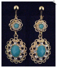 Clip Earrings - Fashion (SKU: SOL5581)