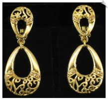 Clip Earrings - Fashion (SKU: SOL5606)