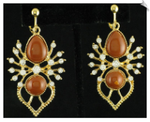 Clip Earrings - Fashion (SKU: SOL5609)