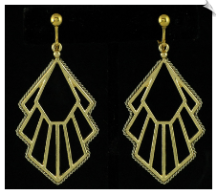 Clip Earrings - Fashion (SKU: SOL5626)