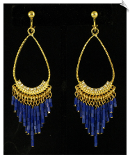 Clip Earrings - Fashion (SKU: SOL5627)