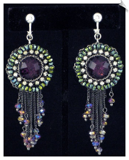 Clip Earrings - Fashion (SKU: SOL6310)