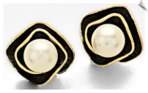 Clip Earrings - Fashion (SKU: SOL5638)