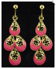 Clip Earrings - Fashion (SKU: SOL5648)