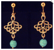 Clip Earrings - Fashion (SKU: SOL5694)