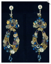 Clip Earrings - Fashion (SKU: SOL6312)