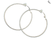 Clip Earrings - Hoops (SKU: SOL5715)