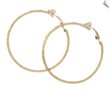 Clip Earrings - Hoops (SKU: SOL5717)