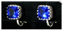 Clip Earrings - Cubic Zirconia (SKU: SOL5719)