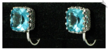 Clip Earrings - Cubic Zirconia (SKU: SOL5720)