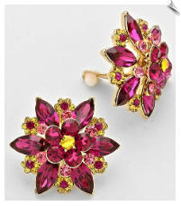 Clip Earrings - Fashion (SKU: SOL5947)