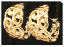 Clip Earrings - Hoops (SKU: SOL5985)