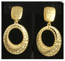 Clip Earrings - Modern (SKU: SOL5987)