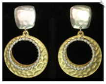 Clip Earrings - Modern (SKU: SOL5990)