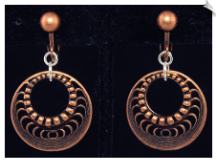 Clip Earrings - Fashion (SKU: SOL6014)
