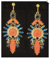 Clip Earrings - Fashion (SKU: SOL6125)