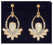 Clip Earrings - Fashion (SKU: SOL6128)