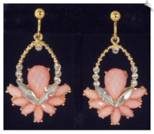Clip Earrings - Fashion (SKU: SOL6129)