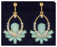 Clip Earrings - Fashion (SKU: SOL6130)
