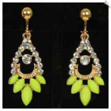 Clip Earrings - Fashion (SKU: SOL6134)