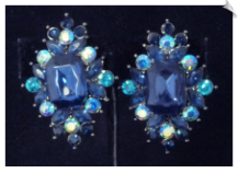 Clip Earrings - Glamour (SKU: SOL6139)
