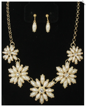Necklace Set - Gold (SKU: SOL6181)