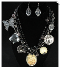 Necklace Set - Silver (SKU: SOL6191)