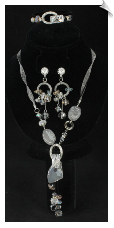 Necklace Set - Silver (SKU: SOL6192)