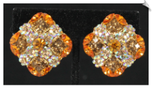 Clip Earrings - Glamour (SKU: SOL6200)