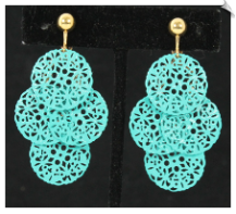 Clip Earrings - Fashion (SKU: SOL6213)